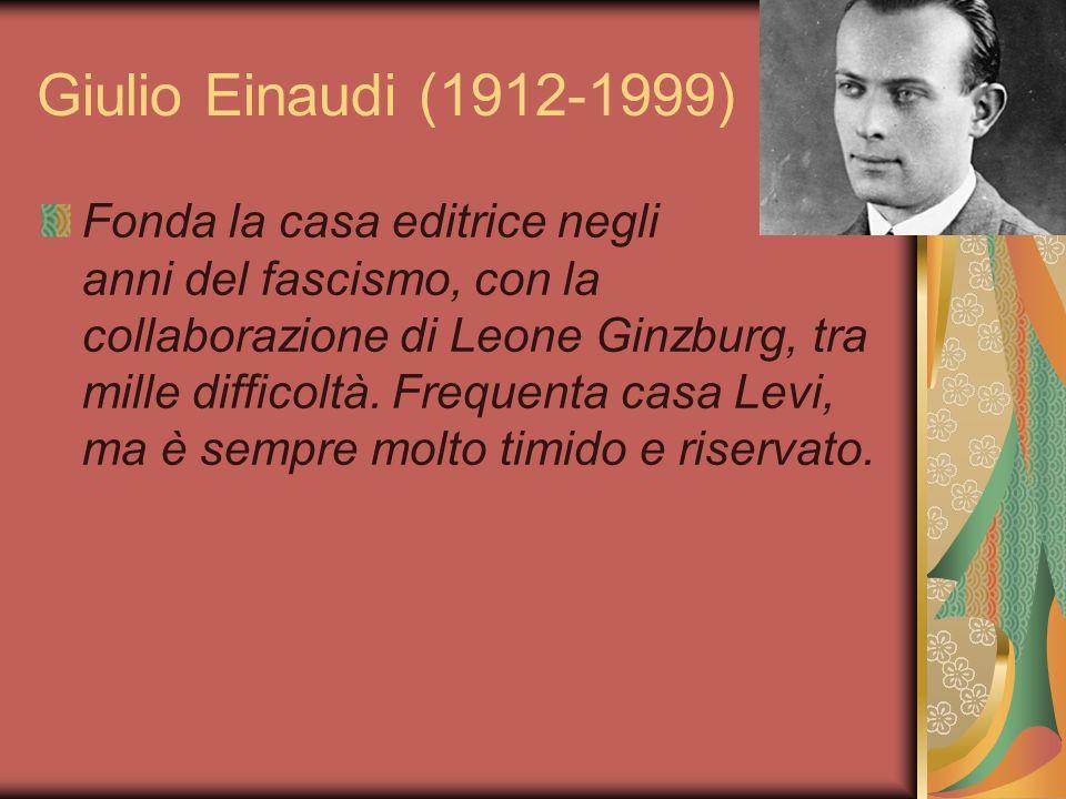 Giulio Einaudi (1912-1999)