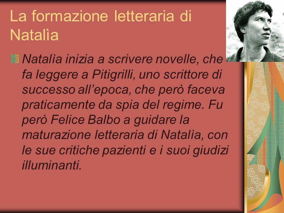 La formazione letteraria di Natalìa