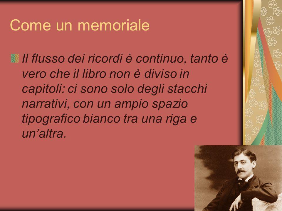 Come un memoriale