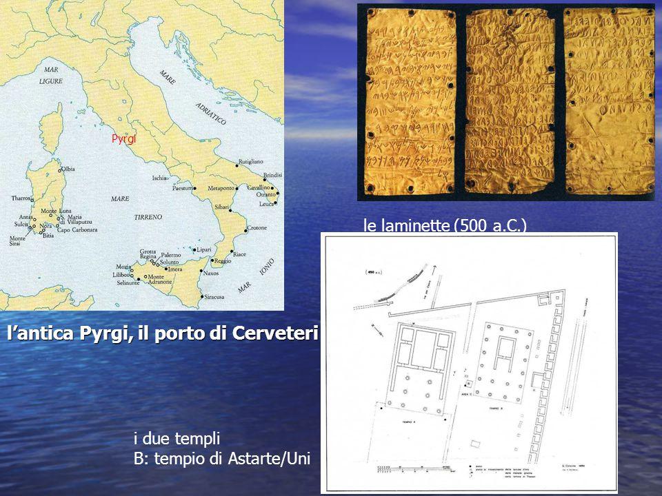 l'antica Pyrgi, il porto di Cerveteri