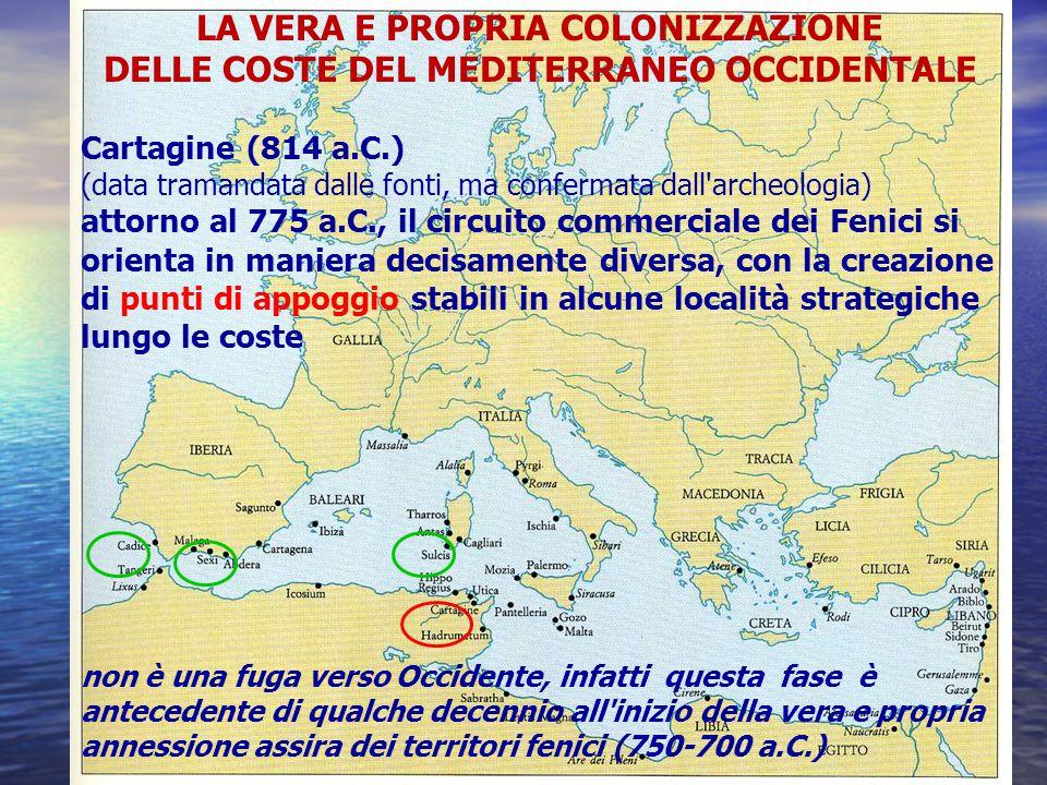Esposizione Attorno Al Mediterraneo : La colonizzazione fenicia ppt scaricare
