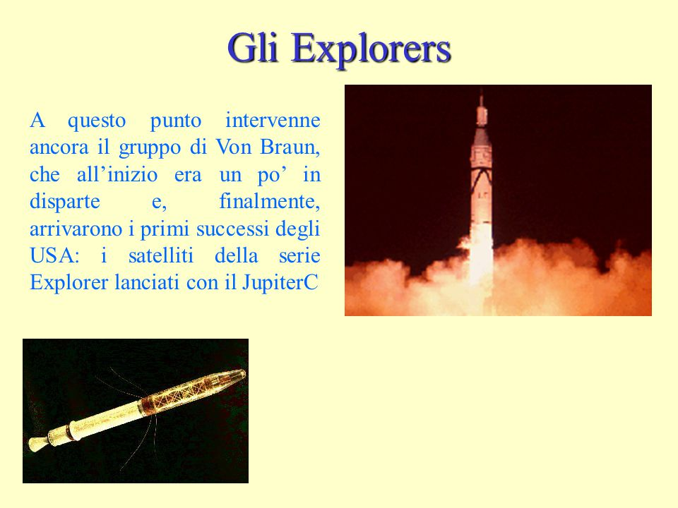 Gli Explorers
