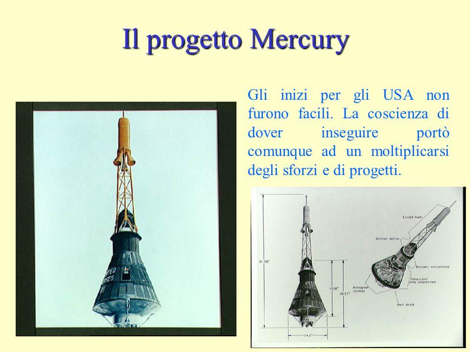 Il progetto Mercury