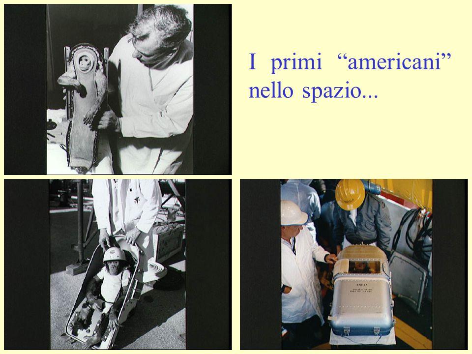 I primi americani nello spazio...