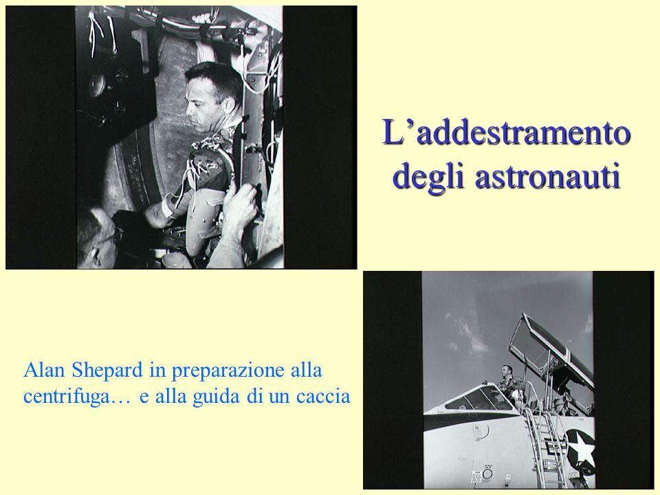 L'addestramento degli astronauti