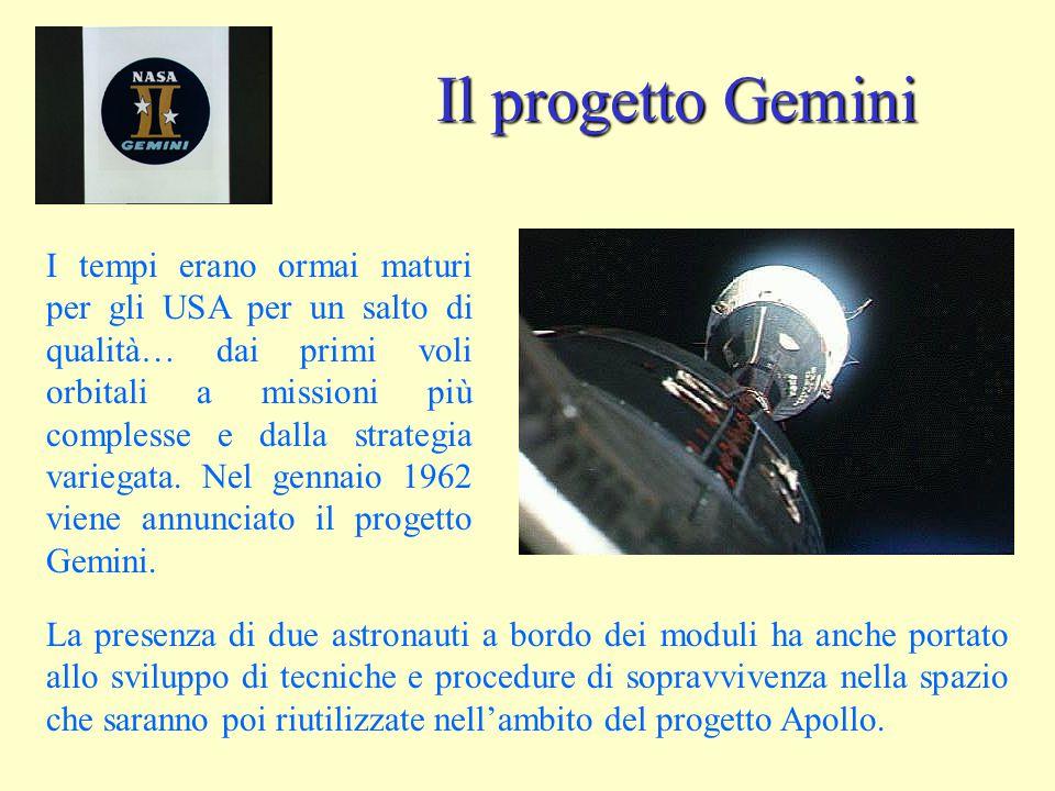 Il progetto Gemini