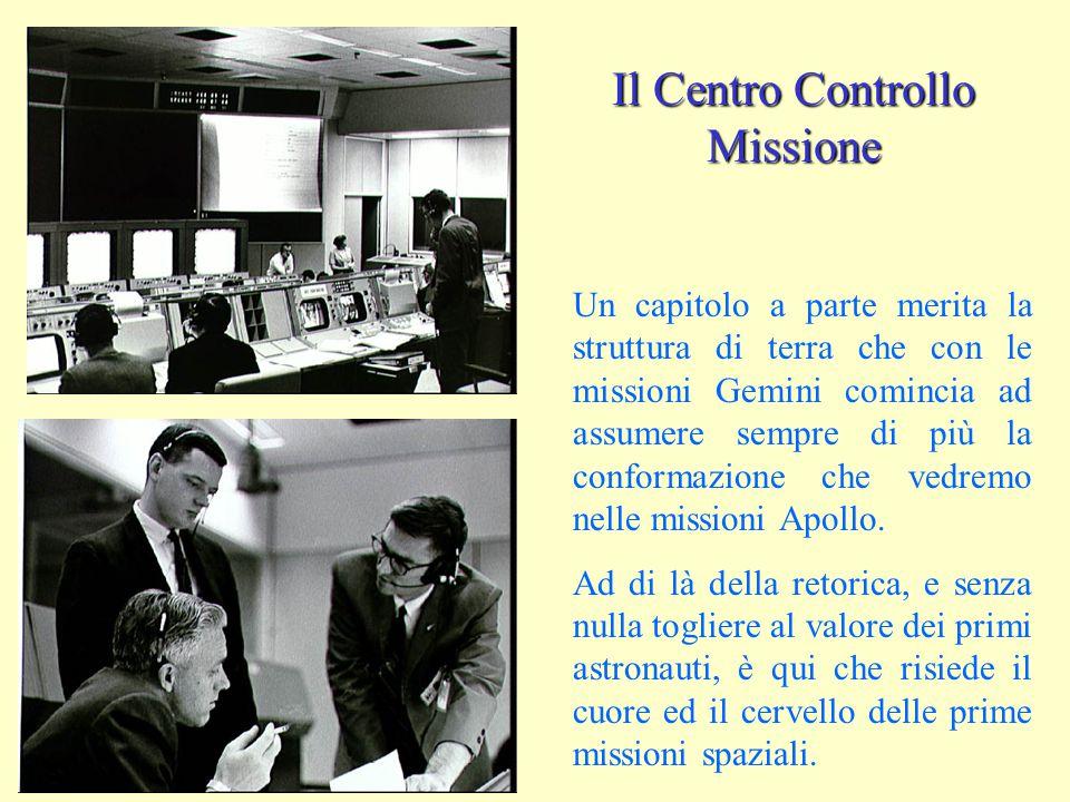 Il Centro Controllo Missione