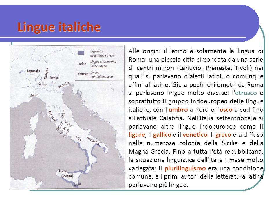 Lingue italiche