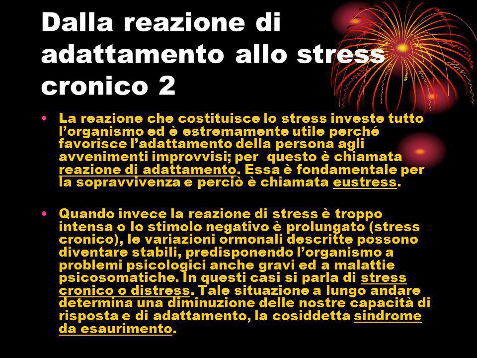 Dalla reazione di adattamento allo stress cronico 2