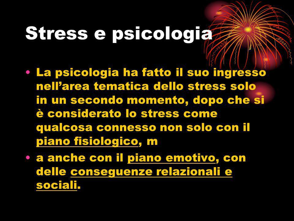 Stress e psicologia