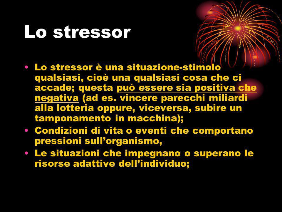 Lo stressor