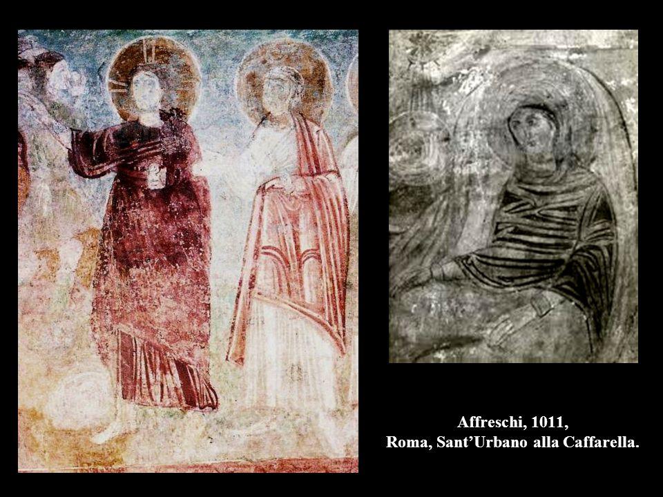 Affreschi, 1011, Roma, Sant'Urbano alla Caffarella.