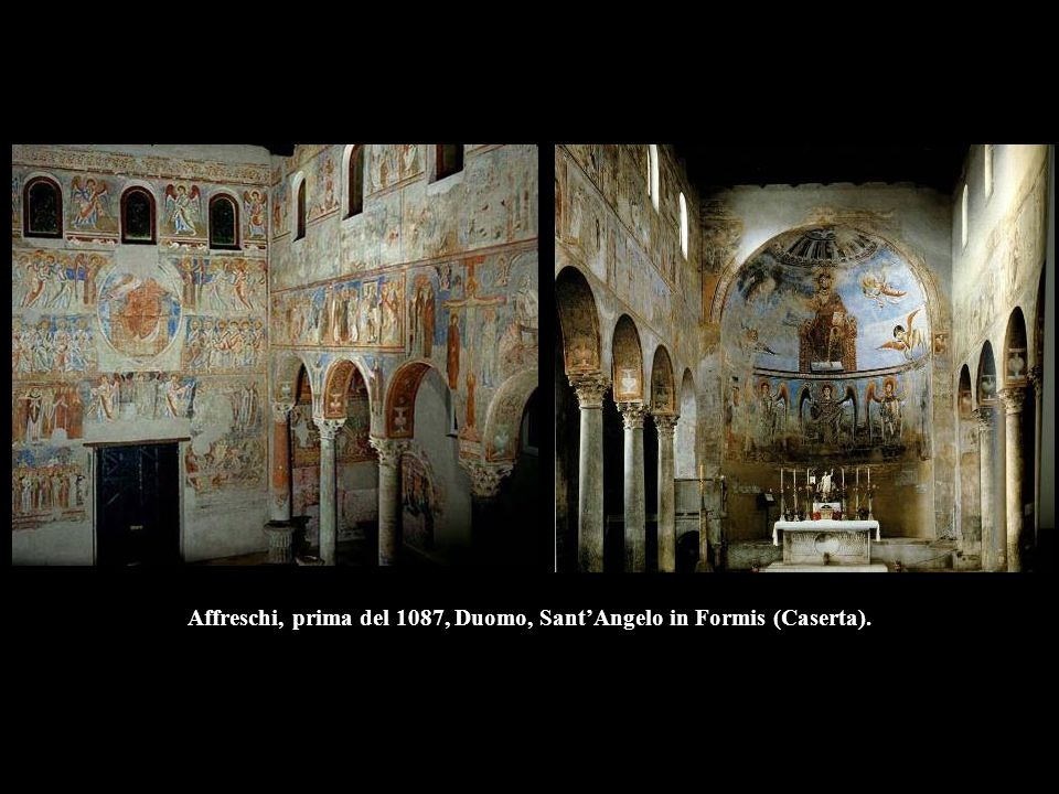 Affreschi, prima del 1087, Duomo, Sant'Angelo in Formis (Caserta).
