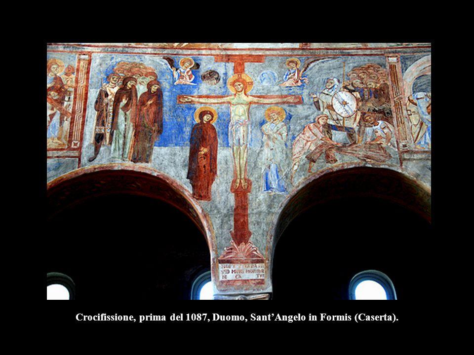 Crocifissione, prima del 1087, Duomo, Sant'Angelo in Formis (Caserta).