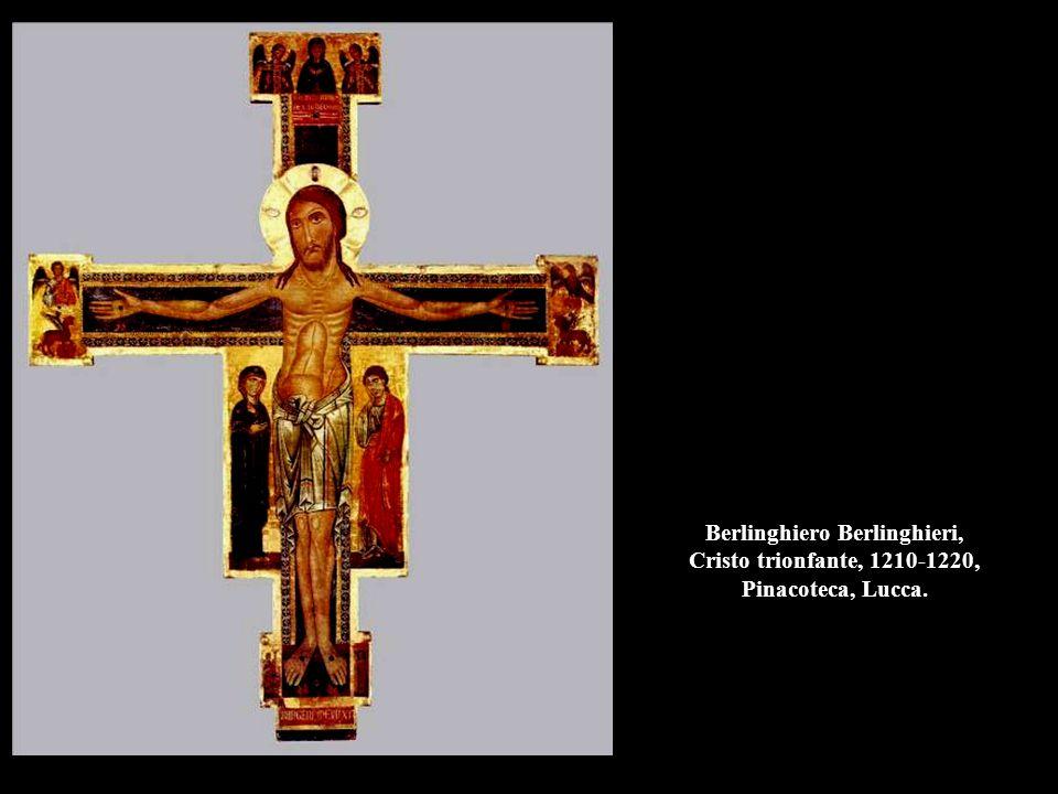 Berlinghiero Berlinghieri, Cristo trionfante, 1210-1220, Pinacoteca, Lucca.