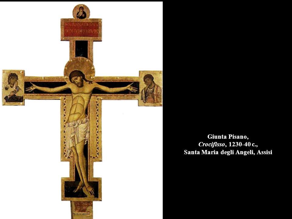 Giunta Pisano, Crocifisso, 1230-40 c