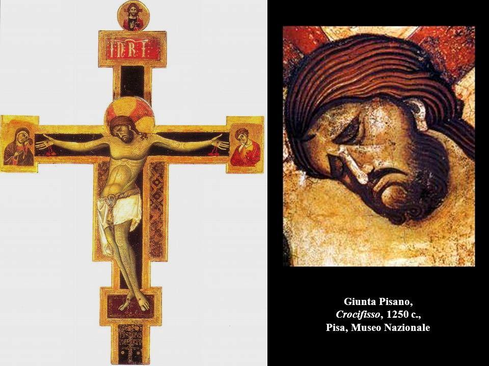 Giunta Pisano, Crocifisso, 1250 c., Pisa, Museo Nazionale
