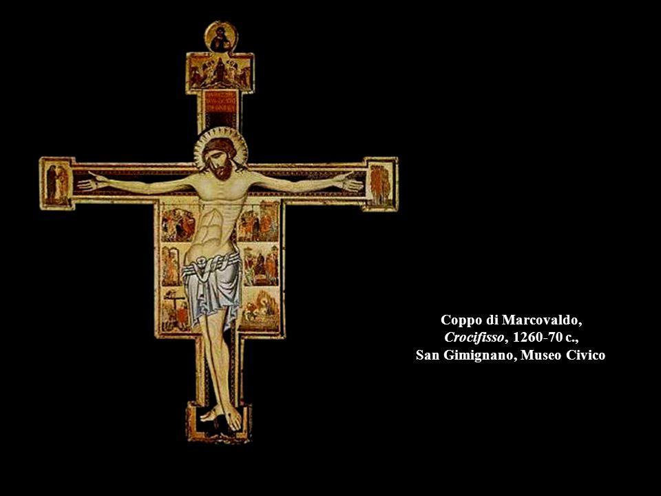 Coppo di Marcovaldo, Crocifisso, 1260-70 c