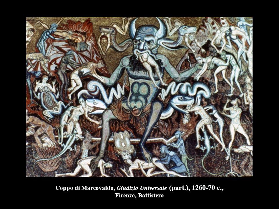 Coppo di Marcovaldo, Giudizio Universale (part. ), 1260-70 c