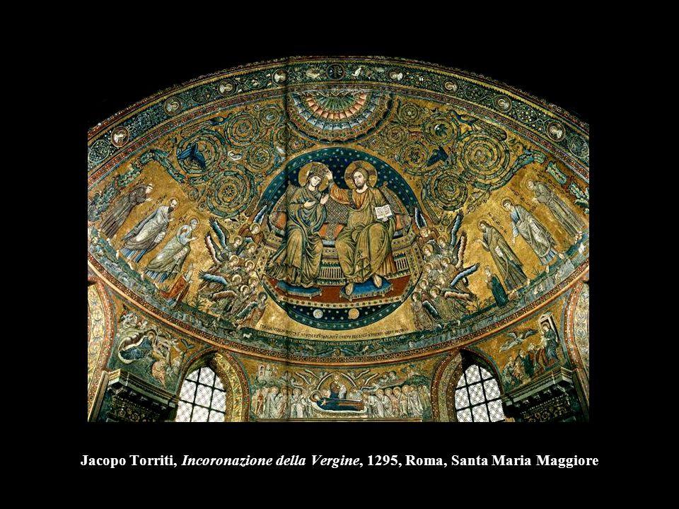 Jacopo Torriti, Incoronazione della Vergine, 1295, Roma, Santa Maria Maggiore