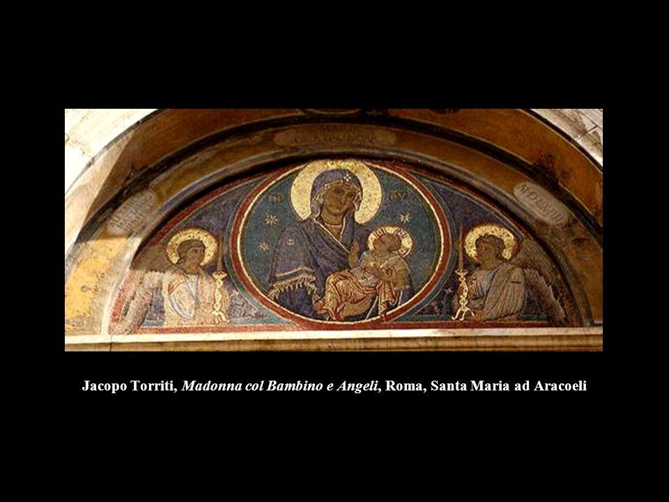 Jacopo Torriti, Madonna col Bambino e Angeli, Roma, Santa Maria ad Aracoeli