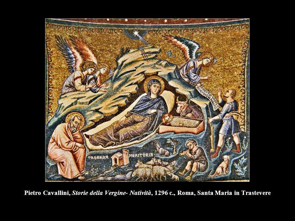 Pietro Cavallini, Storie della Vergine- Natività, 1296 c