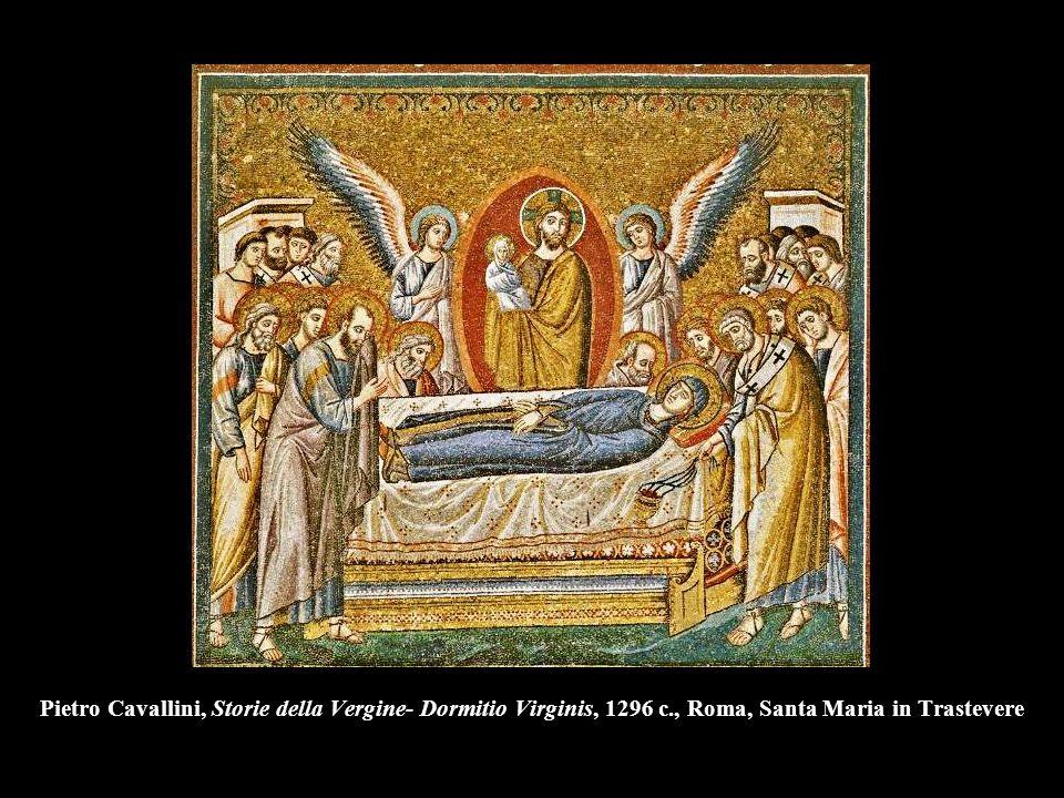 Pietro Cavallini, Storie della Vergine- Dormitio Virginis, 1296 c