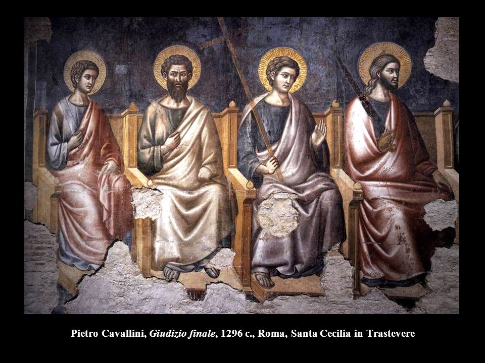 Pietro Cavallini, Giudizio finale, 1296 c