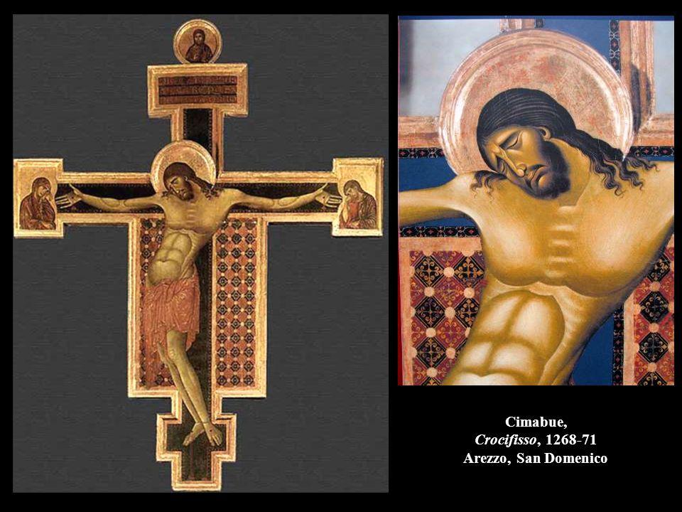 Cimabue, Crocifisso, 1268-71 Arezzo, San Domenico