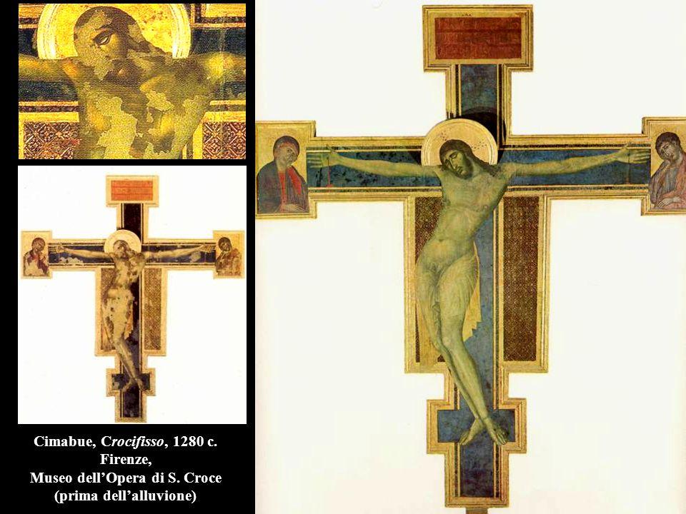 Cimabue, Crocifisso, 1280 c. Firenze, Museo dell'Opera di S