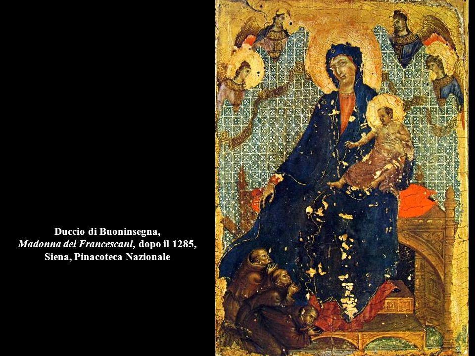 Duccio di Buoninsegna, Madonna dei Francescani, dopo il 1285, Siena, Pinacoteca Nazionale