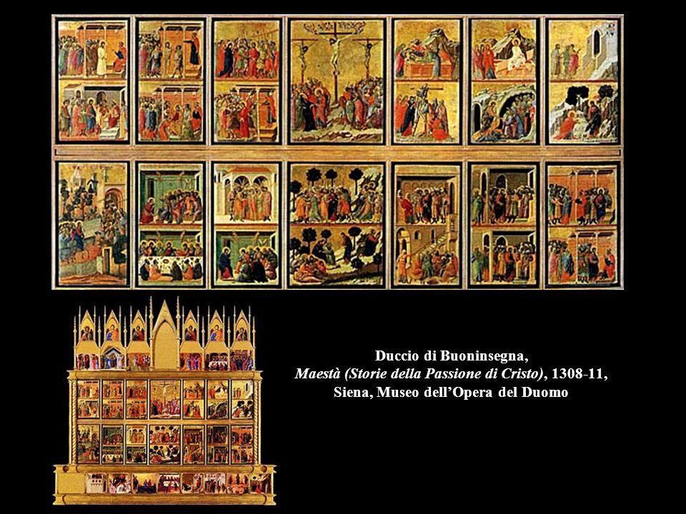 Duccio di Buoninsegna, Maestà (Storie della Passione di Cristo), 1308-11, Siena, Museo dell'Opera del Duomo
