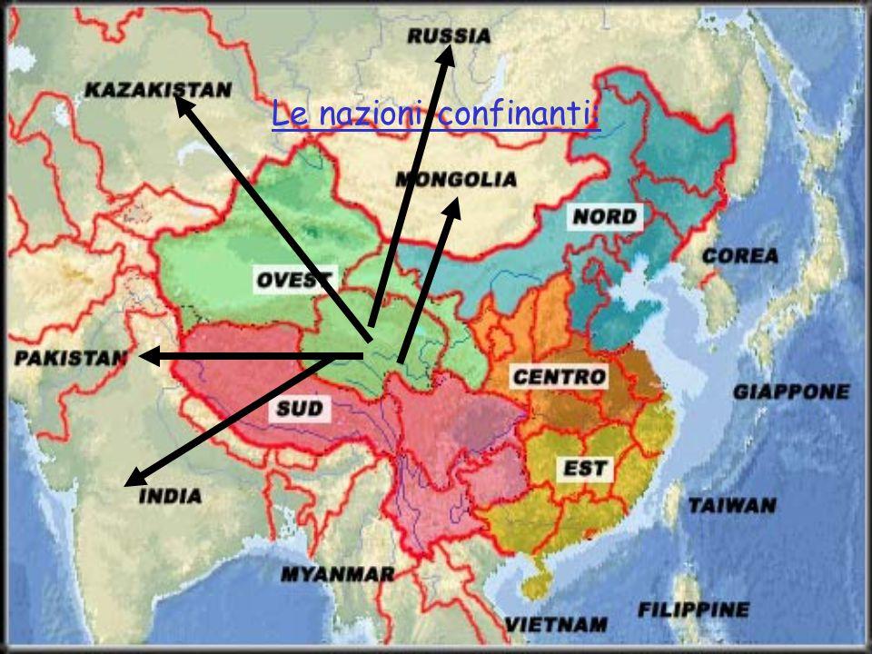 Le nazioni confinanti: