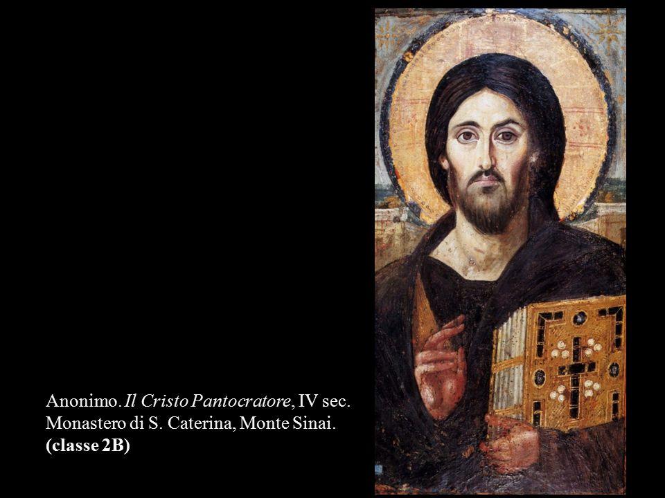 Anonimo. Il Cristo Pantocratore, IV sec.