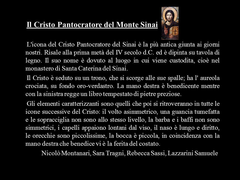 Il Cristo Pantocratore del Monte Sinai