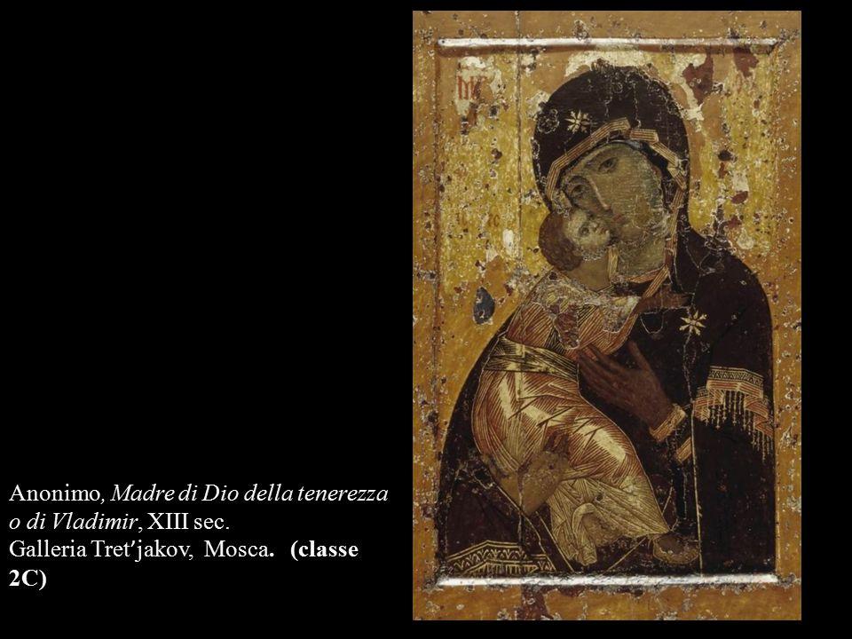 Anonimo, Madre di Dio della tenerezza o di Vladimir, XIII sec.