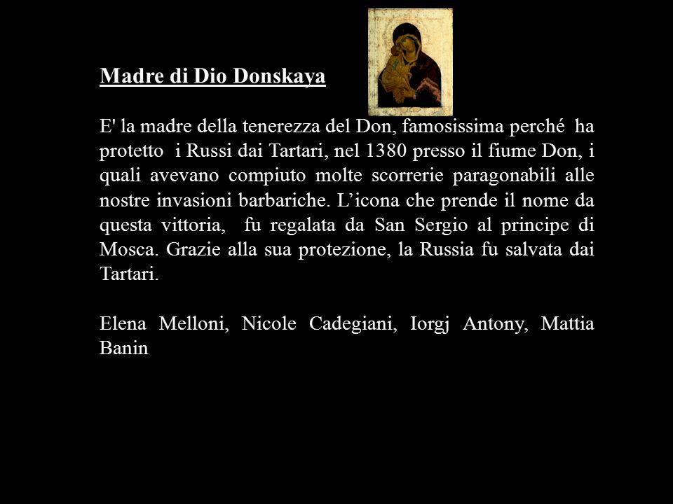Madre di Dio Donskaya