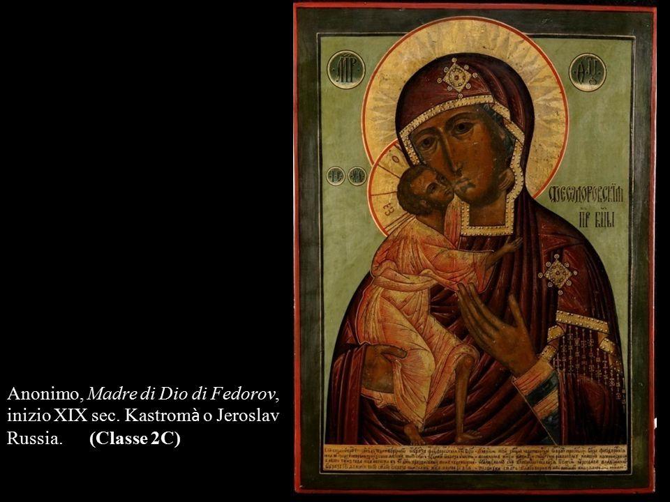 Anonimo, Madre di Dio di Fedorov,