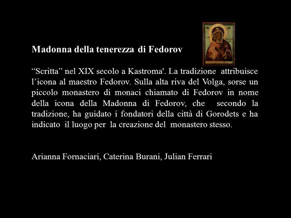 Madonna della tenerezza di Fedorov