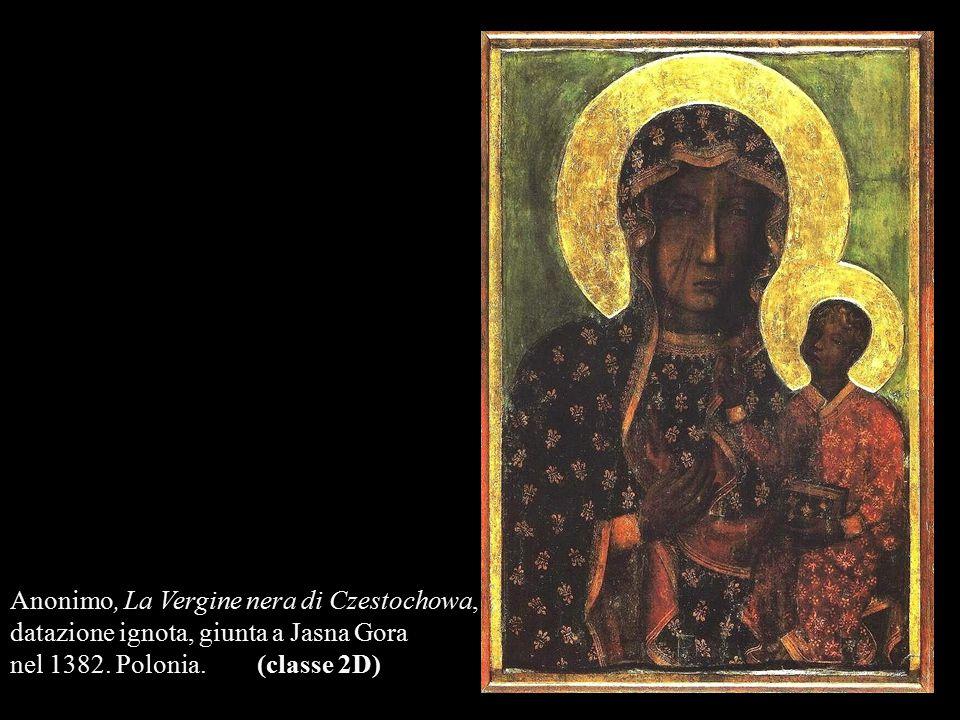 Anonimo, La Vergine nera di Czestochowa,