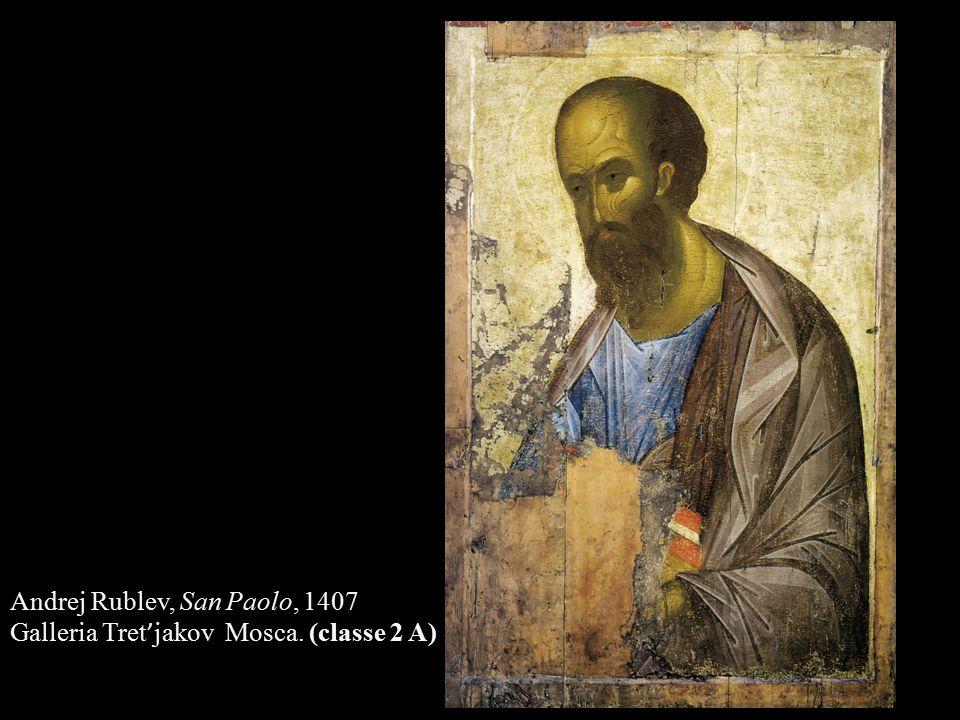 Andrej Rublev, San Paolo, 1407