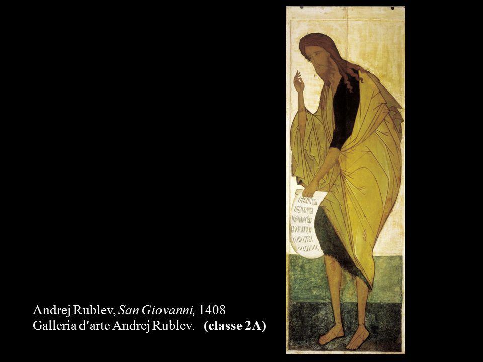 Andrej Rublev, San Giovanni, 1408