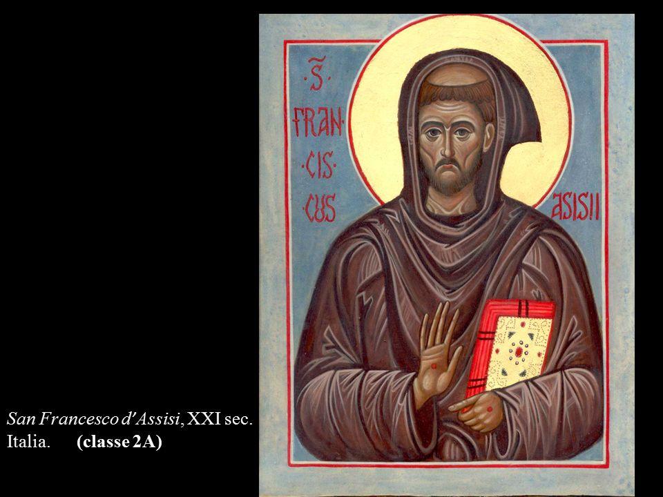 San Francesco d'Assisi, XXI sec.