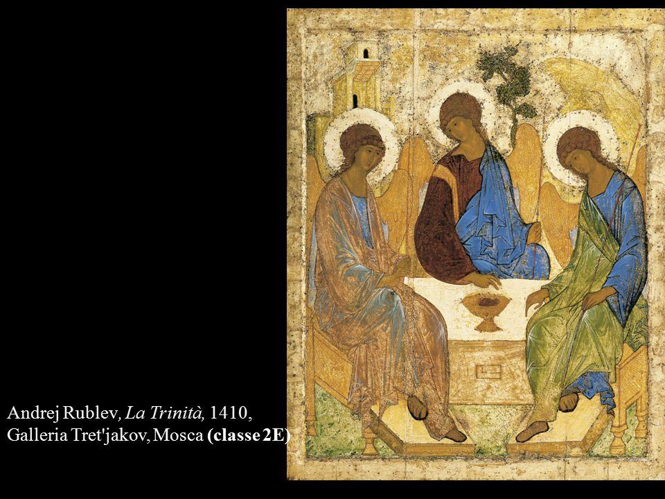 Andrej Rublev, La Trinità, 1410,