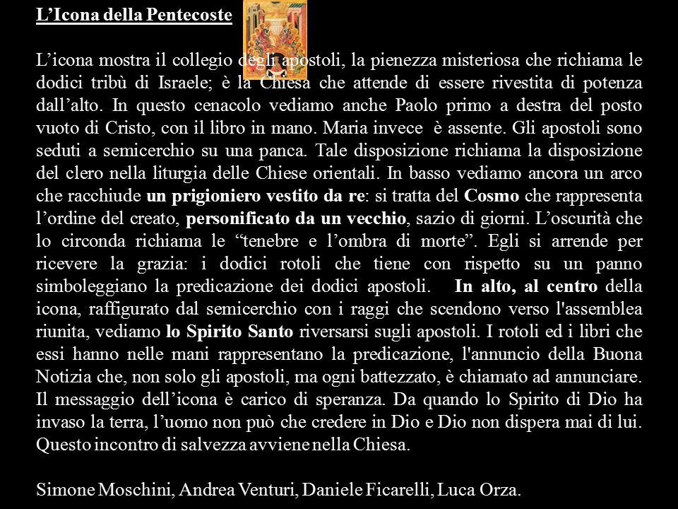 L'Icona della Pentecoste