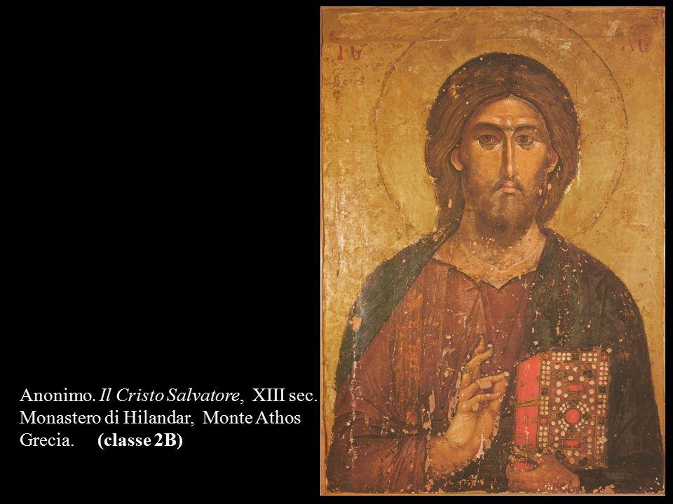 Anonimo. Il Cristo Salvatore, XIII sec.