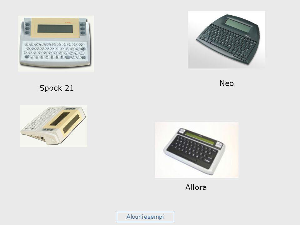 Neo Spock 21 Allora Alcuni esempi