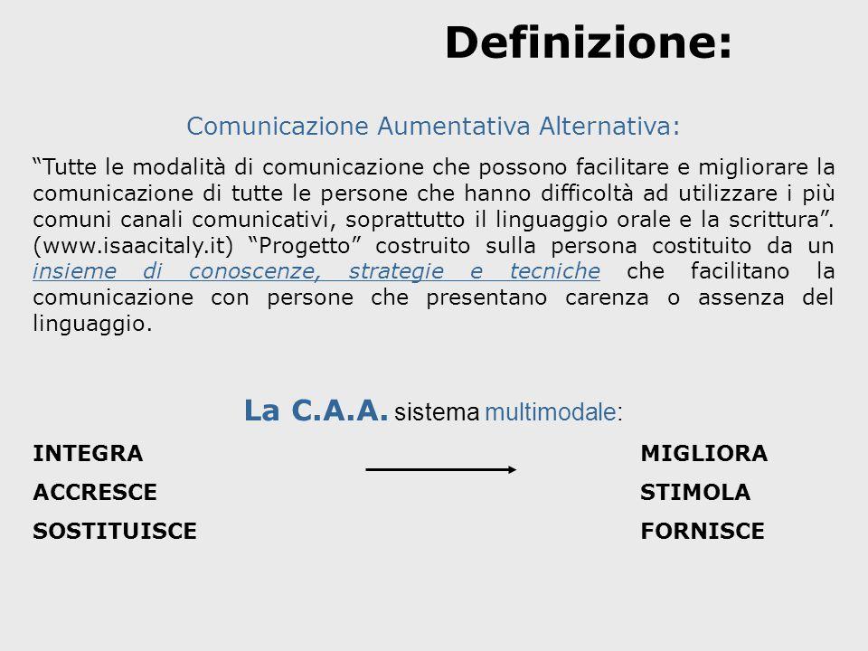 Definizione: La C.A.A. sistema multimodale: