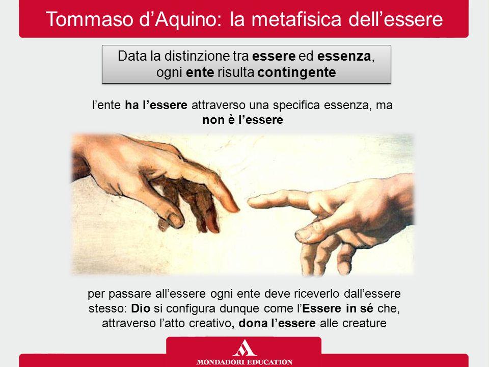 Tommaso d'Aquino: la metafisica dell'essere