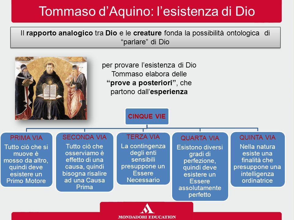 Tommaso d'Aquino: l'esistenza di Dio